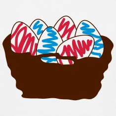 basket of Easter eggs_p1 T-Shirts