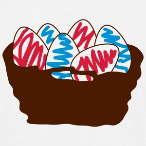 basket of Easter eggs_p1 T-Shirts - Men's T-Shirt