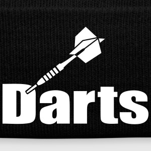 Dart sticking in Darts´D. Dartpfeile darten Set Caps & Mützen - Wintermütze