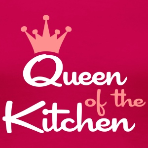 queen of the kitchen frauen T-shirt - Frauen Premium T-Shirt