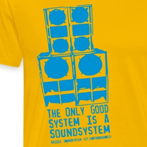 The only Good System is a Soundsystem new - Männer Premium T-Shirt