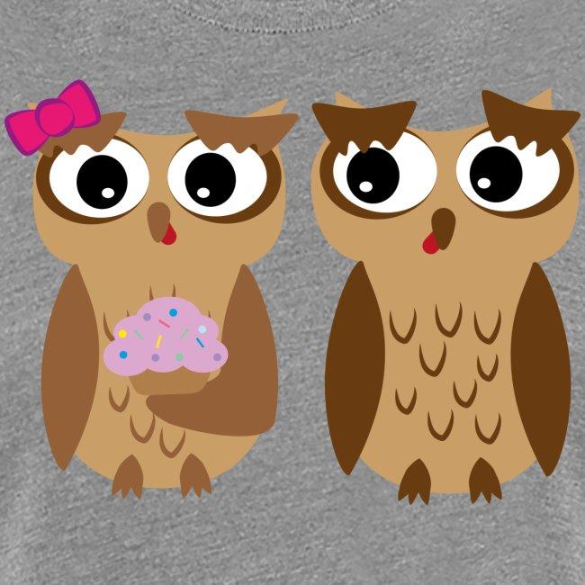 Owli mit Cupcake