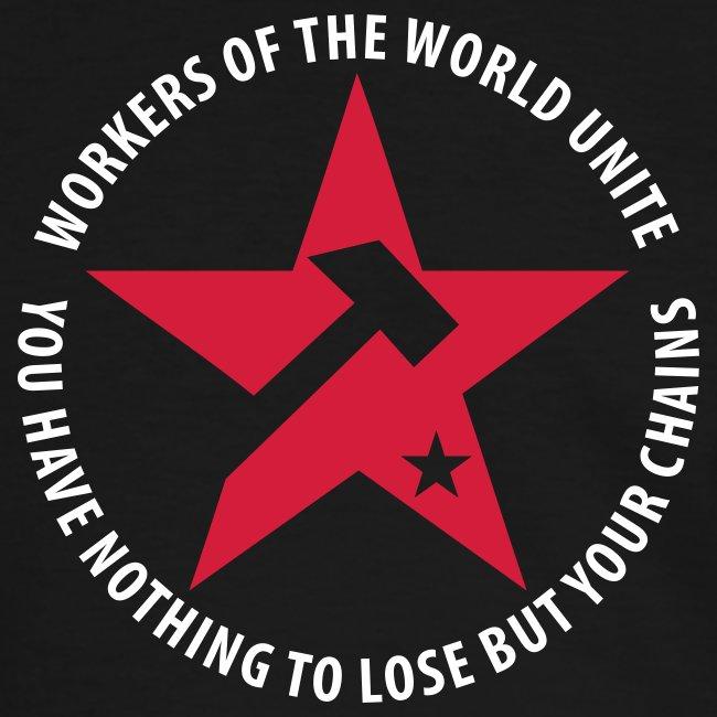 Marxist Star Contrast Tee