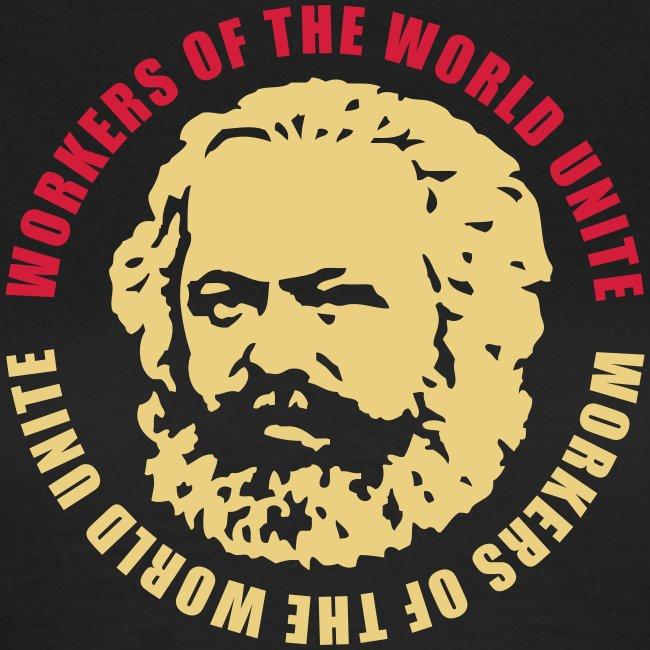 Karl Marx Slogan Women's Tee