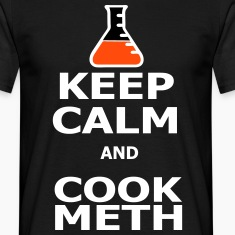 Keep Calm and Cook Meth T-skjorter
