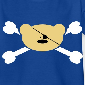Royalblau Teddy Pirat Kinder T-Shirts - Teenager T-Shirt