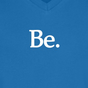 be T-shirts - Mannen T-shirt met V-hals