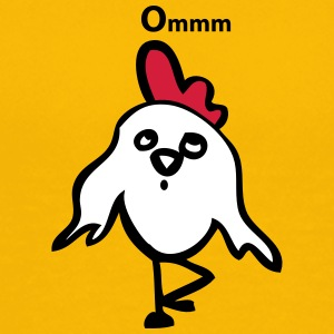 Yoga chicken - Teenage Premium T-Shirt