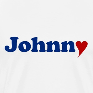 Johnny mit Herz - Men's Premium T-Shirt