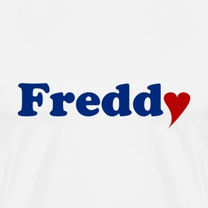 Freddy mit Herz - Men's Premium T-Shirt