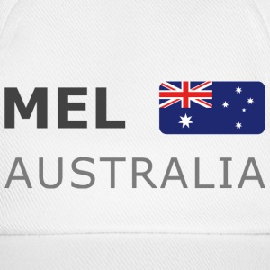 Base-Cap MEL AUSTRALIA dark-lettered - Baseball Cap