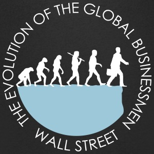 Global Business Forecast T-Shirts - Men's V-Neck T-Shirt
