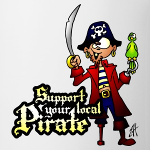 Support your local Pirate Bouteilles et tasses - Tasse