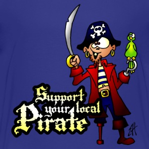 Support your local Pirate Shirts - Teenage Premium T-Shirt