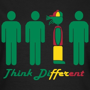 Think different, think Rasta Tee shirts - T-shirt Femme