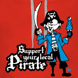 Support your local Pirate Pullover & Hoodies - Frauen Premium Hoodie