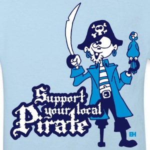 Support your local Pirate Shirts - Kids' Organic T-shirt