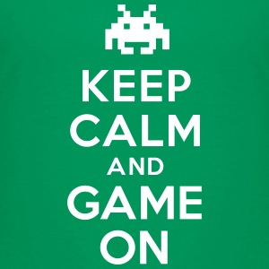 Keep calm and game on Tee shirts - T-shirt Premium Enfant