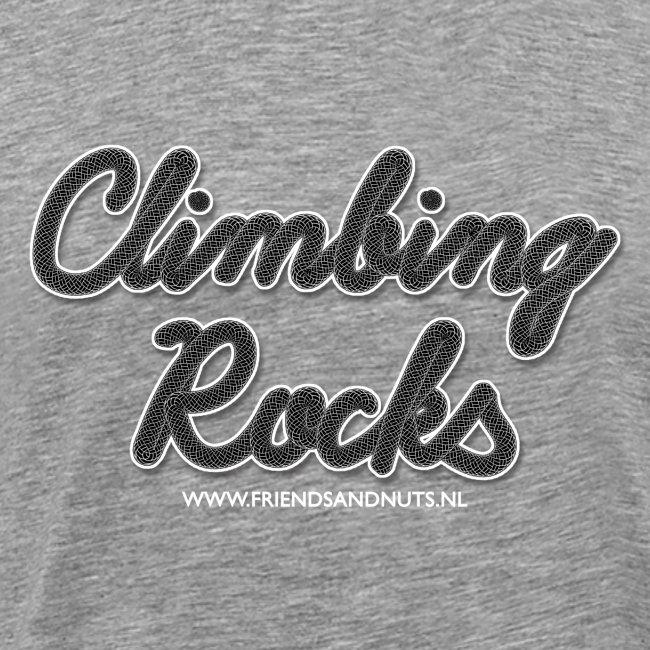 Climbing Rocks! Black (Men)
