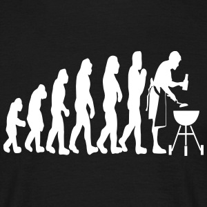 grill and beer evolution T-Shirts - Männer T-Shirt