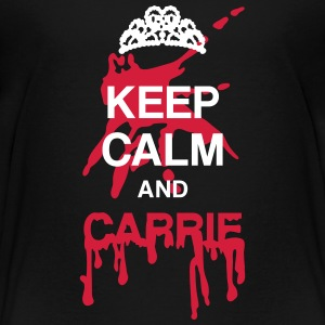 Keep calm and Carrie Shirts - Teenage Premium T-Shirt