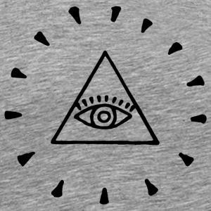 The All-Seeing Eye - Männer Premium T-Shirt