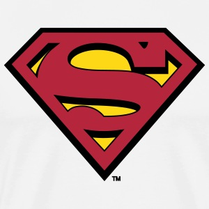 Superman S-Shield Männer T-Shirt - Männer Premium T-Shirt