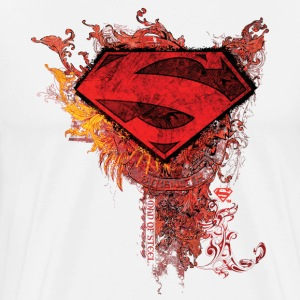 Tee-shirt Homme Superman S-Shield Ornate - T-shirt Premium Homme