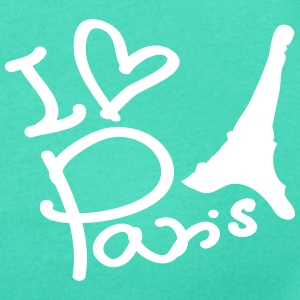 I love Paris Women's Scoop Neck T-Shirt - Women's Scoop Neck T-Shirt