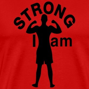 I am Strong Men's Classic T-Shirt - Men's Premium T-Shirt