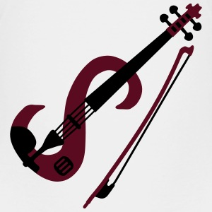 electric violin_v1 T-shirts - Børne premium T-shirt