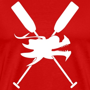 Dragon boat paddle Dragon canoe 1 c. T-Shirts - Men's Premium T-Shirt