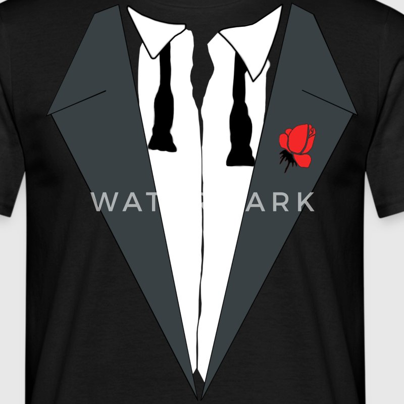 AFTER PARTY SMOKING (TUXEDO) - Männer T-Shirt