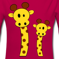 Motif ~ Body bébé girafes