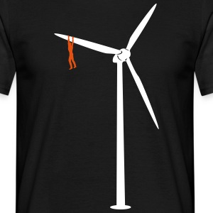 Pull the windmill  T-Shirts - Men's T-Shirt