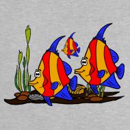 Motif ~ T shirt bébé poissons