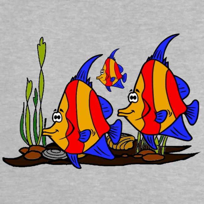 T shirt bébé poissons