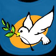 Motif ~ Bavoir bébé colombe