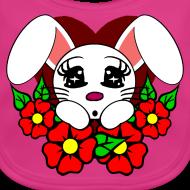 Motif ~ Bavoir bébé lapin