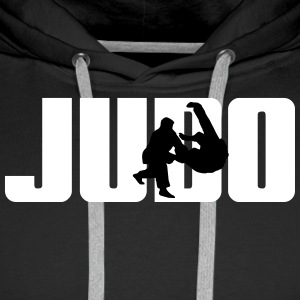 Judo Judoka Sweat-shirts - Sweat-shirt à capuche Premium pour hommes