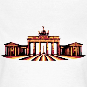 Brandenburger Tor (Berlin) Damen T-Shirt - Frauen T-Shirt