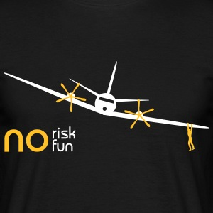 no risk no fun plaisir  Tee shirts - T-shirt Homme