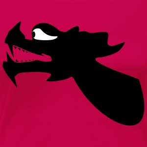 Dragon Head Dragon Boat Canoe 2c T-Shirts - Women's Premium T-Shirt