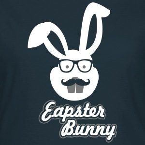 Easter Hipster Bunny - Women's T-Shirt