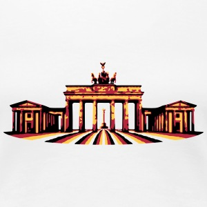 Brandenburger Tor (Berlin) Damen T-Shirt - Frauen Premium T-Shirt