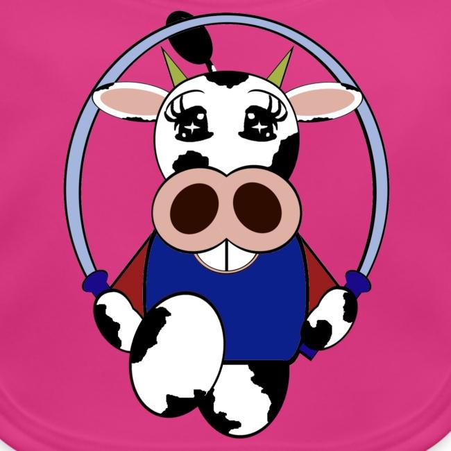 Bavoir bébé vache
