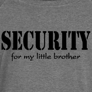 Security for my little Brother Sudadera - Sudadera con escote drapeado mujer