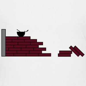brick wall 2_m1 Shirts - Teenager Premium T-shirt