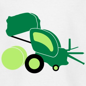 farmer round baler_p1 Shirts - Teenage T-shirt