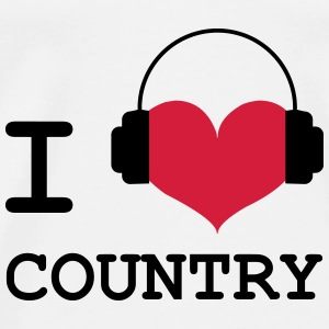 I Love Country Tee shirts - T-shirt Premium Homme